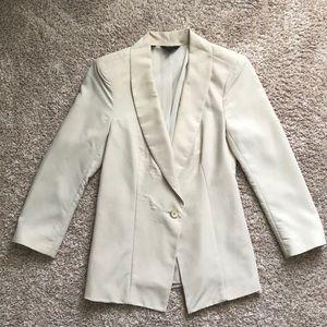 Guess 3/4 sleeve women's beige blazer XS